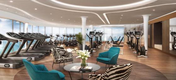 msc meraviglia cruise ship gym