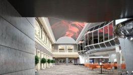 msc meraviglia cruise ship atrium