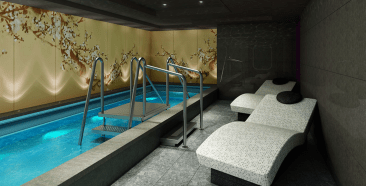 Dream Cruises Genting Dream cruise ship hot tub spa