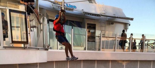 ROYAL caribbean harmony of the seas ziplining