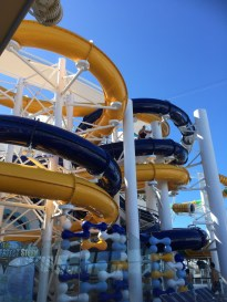 Royal Caribbean Cruises Harmony of the Seas cruise ship waterslides