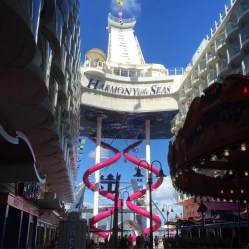 Royal Caribbean Cruises Harmony of the Seas cruise ship abyss slide