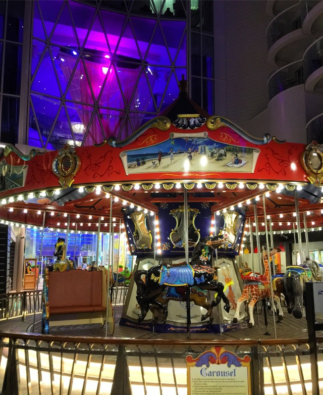 Royal Caribbean Cruises Harmony of the Seas cruise ship carousel