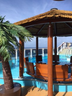 Carnival Cruises Vista cruise ship aft pool