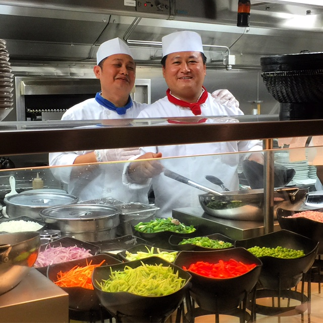 Carnival Cruises Vista cruise ship chefs