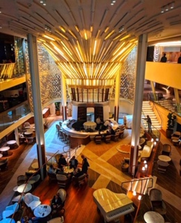 celebrity cruises edge cruise ship atrium
