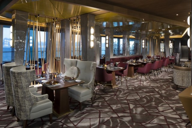 Celebrity cruises edge cruise ship steakhouse
