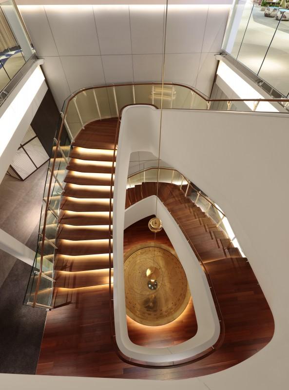 Celebrity cruises edge staircase
