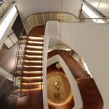 Celebrity cruises edge staircase