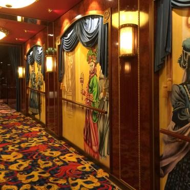 Norwegian cruises Jade cruise ship Norway theatre hall