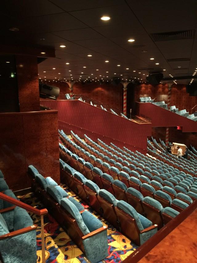 Norwegian cruises Jade cruise ship Norway theatre