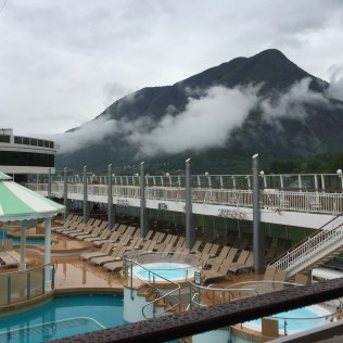 Norwegian cruises Jade cruise ship Norway pool hot tub fjords