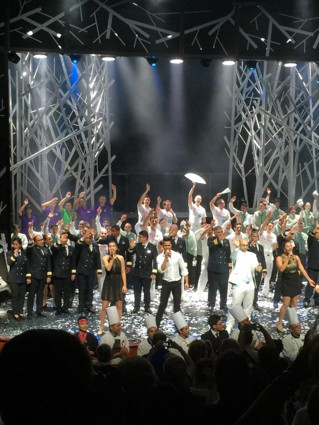 Norwegian cruises Jade cruise ship Norway theatre show