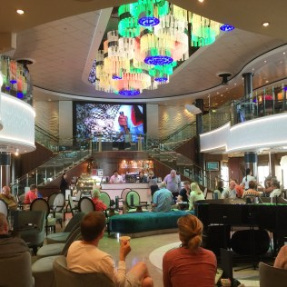 Norwegian cruises Jade cruise ship Norway bar