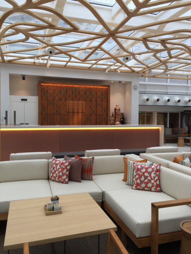 Viking cruises sky cruise ship wintergreen bar