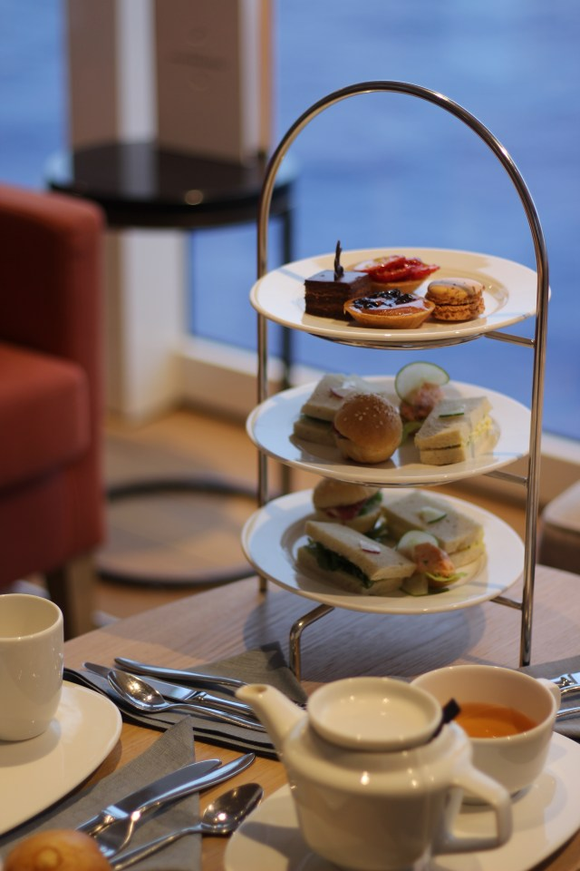 Viking cruises sky cruise ship afternoon tea