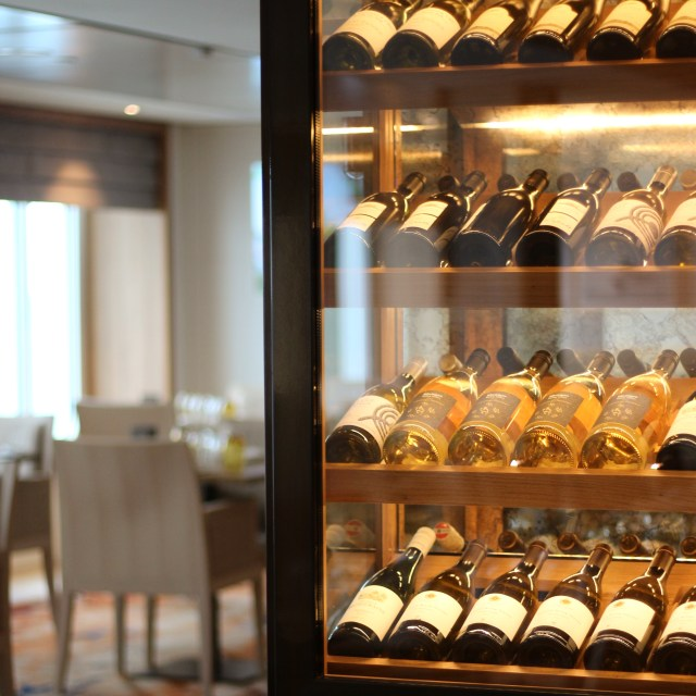 Viking cruises sky cruise ship wine bottles