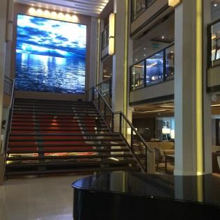 Viking cruises sky cruise ship atrium