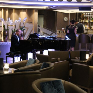 Silversea cruises silver muse cruise ship pianist