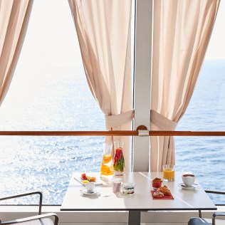 Silversea cruises silver muse cruise ship pool grill view