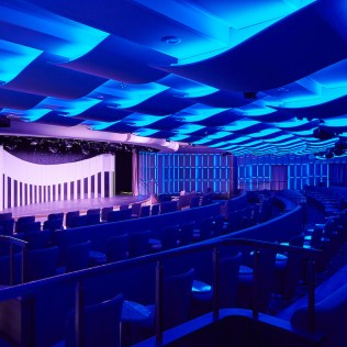 Silversea cruises silver muse cruise ship theater