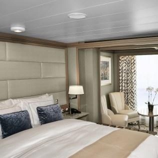 Silversea cruises silver muse cruise ship panorama suite