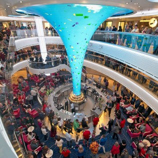 Carnival cruises Horizon cruise ship atrium bar