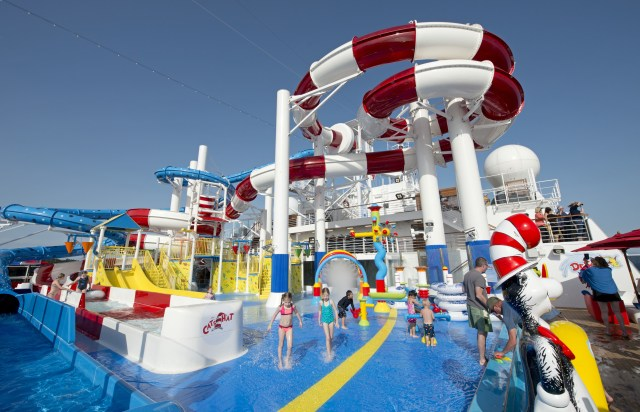 Carnival cruises Horizon cruise ship waterpark children