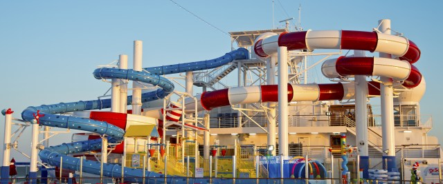 Carnival cruises Horizon cruise ship waterpark
