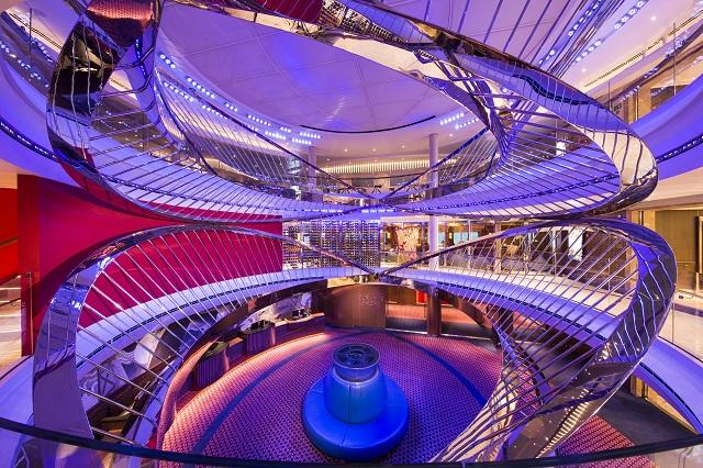 Nieuw statendam holland america atrium artwork