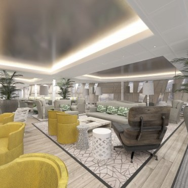 Celebrity cruises edge cruise ship suite lounge
