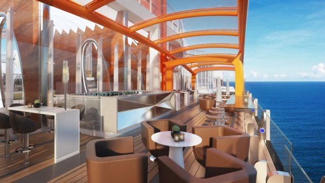 celebrity cruises edge cruise ship magic carpet view