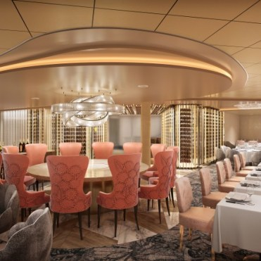celebrity cruises edge cruise ship cosmopolitan restaurant