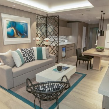 celebrity cruises edge cruise ship royal suite living room