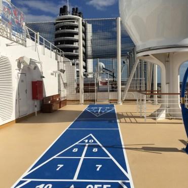Holland America Statendam cruise ship shuffle board