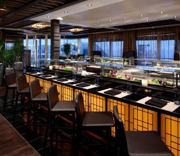 Holland America Cruises Nieuw Statendam Nami Sushi restaurant