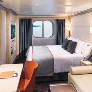 Holland America Statendam cruise ship ocean view cabin