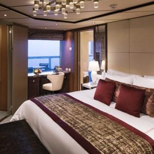 Holland America Nieuw Statendam cruise ship Pinnacle suite