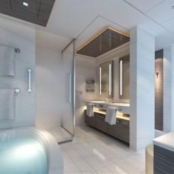 Norwegian Encore - The Haven Deluxe Owner's Suite - Bathroom