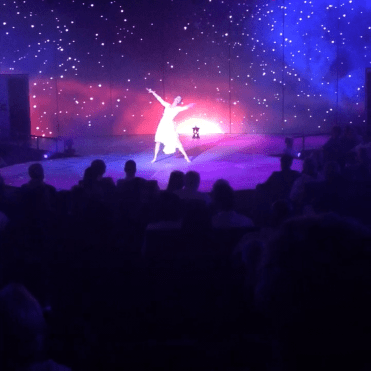 Holland America Statendam cruise ship show stage performance