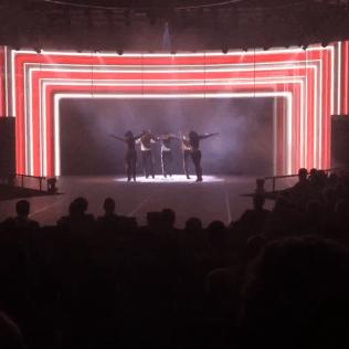 Holland America Statendam cruise ship stage performance