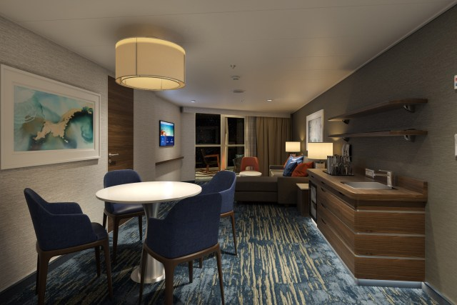Carnival cruises Excel Presidential Suite