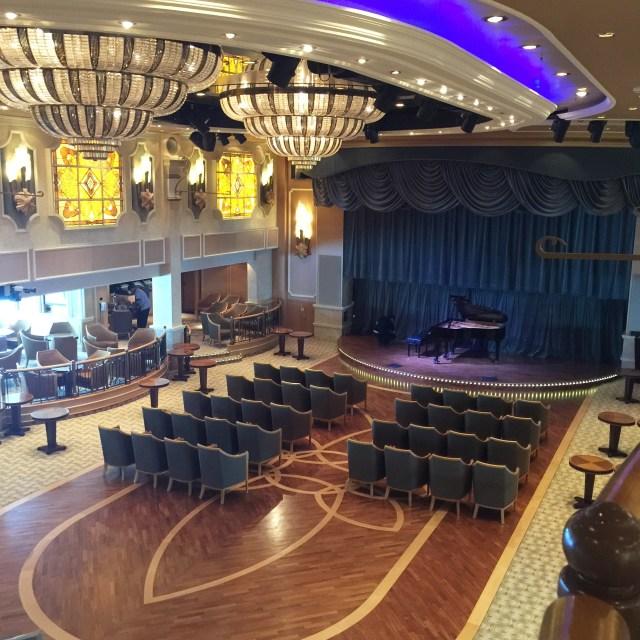 Cunard Queen Elizabeth Queen's Lounge