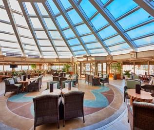 Cunard Queen Elizabeth Garden Lounge