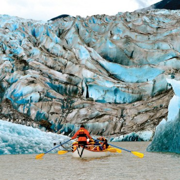 Cunard Queen Elizabeth Alaska kayaking