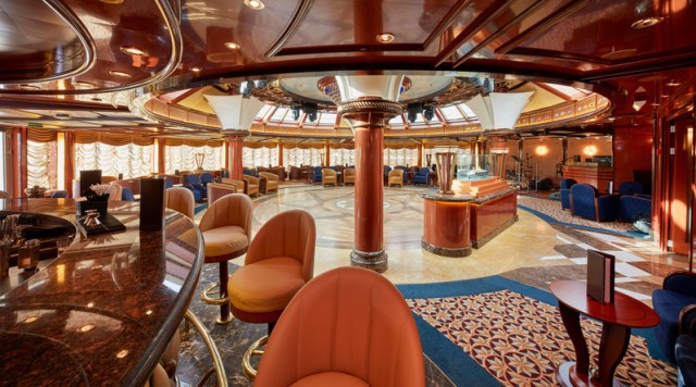 Cunard Queen Elizabeth Lounge