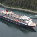 Cunard Queen Elizabeth in Icy Strait Alaska