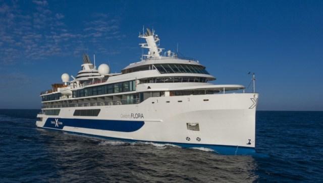 Celebrity Flora-Aerials At Sea059R