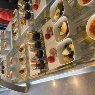 Regent Cruises Voyager buffet