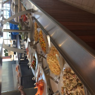 Regent Cruises Voyager Grill buffet